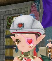 手袋から帽子に変わってる!